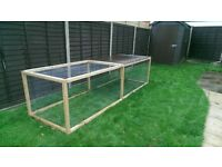 Large 3m x 1m x 1m rabbit/animal run