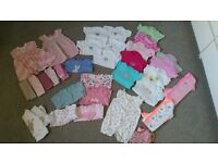 Bundle Baby Girl Clothes 3-6m