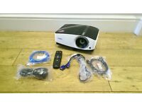 BenQ MX750 FULL HD HDMI Projector with remote control. 1259 lamp hours used !!!