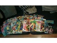 Old comics as far as 1988 1966 judge dred marvel lots more to name