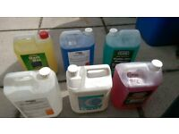CAR CLEANING PRODUCTS SUIT VALETER 100+ LTRS ALLOY CLEANER WAXES ETC