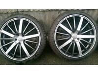 """Audi 19"""" alloy wheels 5x112"""