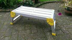 Large Aluminium Folding Caravan Step