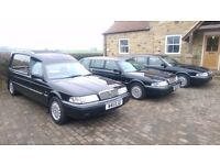 Rover Regency 825 Funeral Fleet Hearse and 2 Limousines Automatic