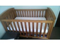 Wooden Cot bed 'Boori Country'