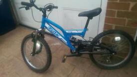 "Boys 16"" Trax Bike"