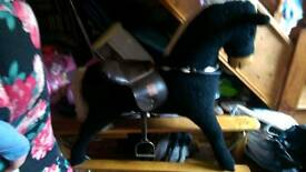 Glidding horse