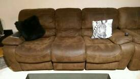 3+2+1 Manual Recliner Sofas