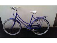 Classic Raleigh ladies bicycle town bike