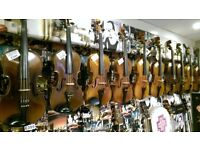 Selection of good antique violins