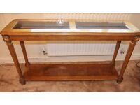 Hall Table / Narrow Table With Shelf / Free Standing Shelf.