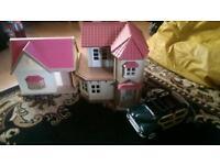 Beechwood hall plus small house and car etc