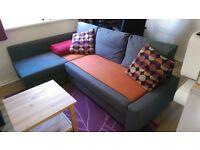 Ikea Friheten corner sofa-bed +FREE COFFEE TABLE!