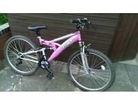 Pink Trax bike