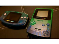 2 # Gameboy Advance + Gameboy color with games and extras