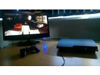PS3 120GB + LG TV + GTA V