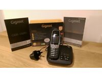 Gigaset Single Cordless Phone with Answer Machine and Nuisance Call Blocking