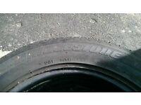 spare wheele plus 3 winter tyres from vw passat b6 215/55 R16