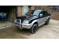 l200 2.5 td new cambelt/water pump only 86k
