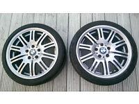 BMW alloys x 2 R18 225/40