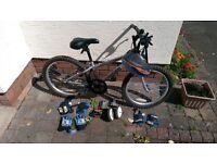 "Apollo XC20 children's bike 20"" wheels, 10"" frame."