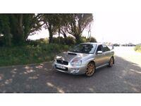 Subaru Impreza WRX turbo full service history cambelt done jdm, prodrive parts / Not STI