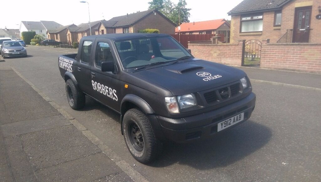 nissan navara d22 double cab pick up 2001 looking for swap px mini golf a3 a4 estate in. Black Bedroom Furniture Sets. Home Design Ideas