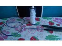 Light Badminton racquet set plus shuttlecocks sports