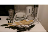 56-pieces kitchen equipment (preferably all together but also individually)