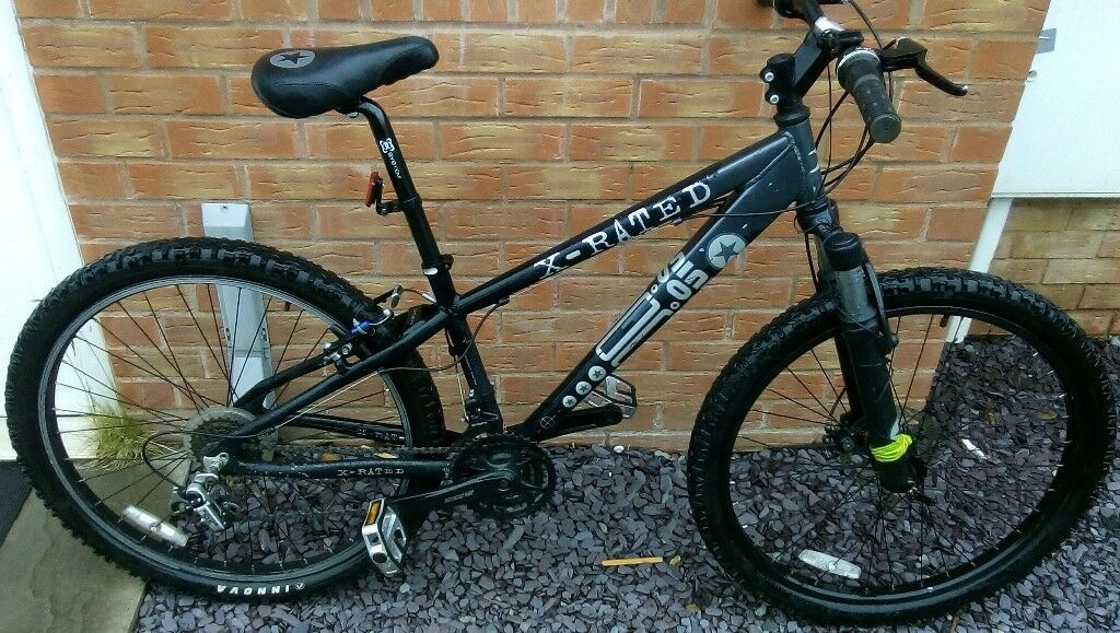 """x-rated mountain bike 26"""" wheels ***free delivery***(check the"""