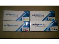 Full set of compatible cartridges for Dell C1765nfw. New.