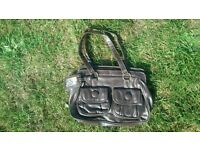 Brown Handbag.