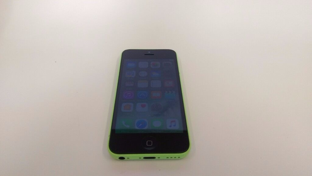 Apple iPhone 5C 16GB Unlocked SIM FREE Green Cheap Smartphone Mobile Phone Any SIM Networkin Shepherds Bush, LondonGumtree - Apple iPhone 5C 16GB Green Smartphone UNLOCKED TO ANY NETWORK Used but still good condition phone with usual signs of wear and use. Got small scuffs and scratches on the edges. Some scratches, wear and tear on the back. Screen was changed recently...