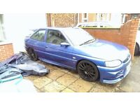 FORD ESCORT GTI (COSWORTH SPOILER FITTED)! £785 O.N.O! *QUICK SALE* (NOT A GOLF R32 POLO CIVIC A3)