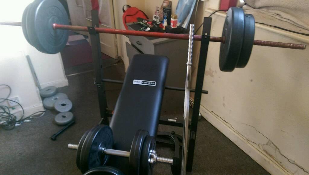 PRO Fitness bench