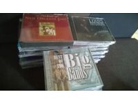 34 CD albums featuring jazz, crooners and big band music.