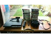 Ps3 320gb with 36 games, 3 pads and more