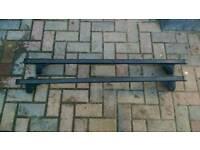 Halfords/Thule roof bars Vauxhall Zafira 1998-2005