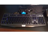 Great Condition Logitech G19 Mechanical Gaming Keyboard