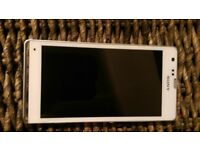 Sony Experia phone and free sim card adapter