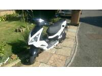 50cc Peugeot Speedfight 3 RS Iceblade Edition Moped