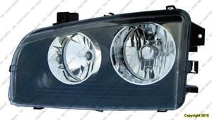Head Light Passenger Side Small Amber Lens Over Turn Signal [From 2006 To 11/08/2006] High Quality Dodge Charger