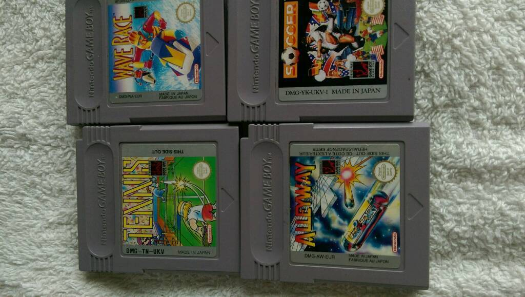 4 games for game boy