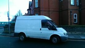 ford transit t280 swb semi high top 55 plate