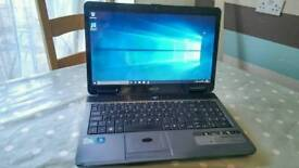Acer Travelmate Dual Core, Windows 10 Laptop with Webcam