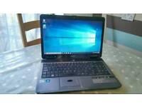 Acer Travelmate Dual Core, Windows 10 Laptop with Webcam