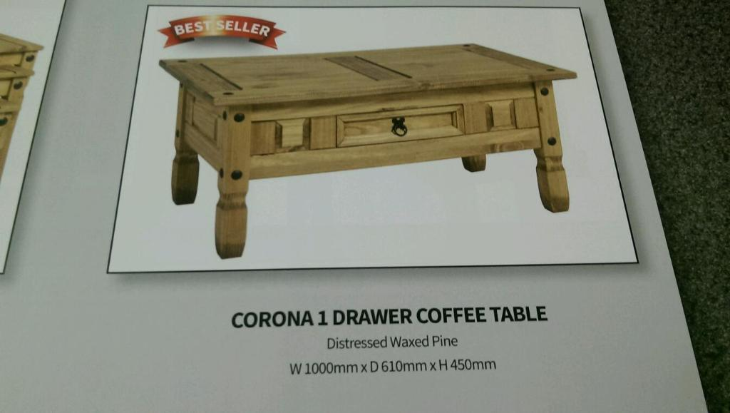 Corona coffee table new in dundee gumtree for Coffee tables gumtree