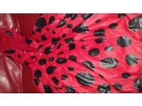 Lady bird rain coat and wellies