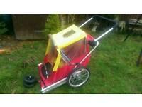 Bike trailer ..Can deliver