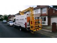 Cherry Picker for hire.